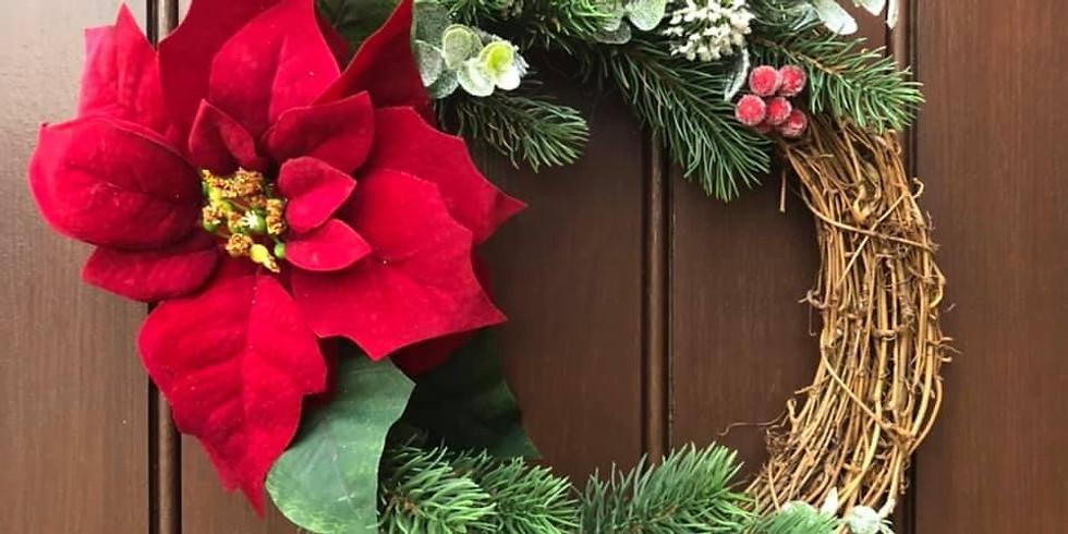 Festive Wreath - artificial (1)