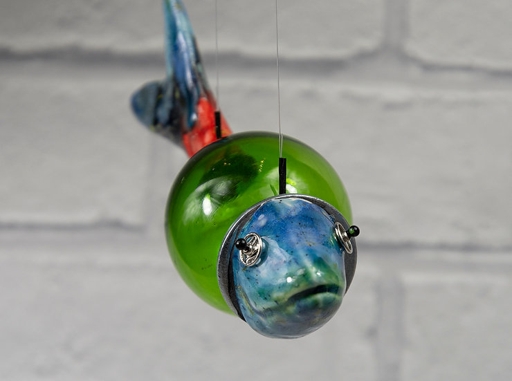 Green Bubble Fish