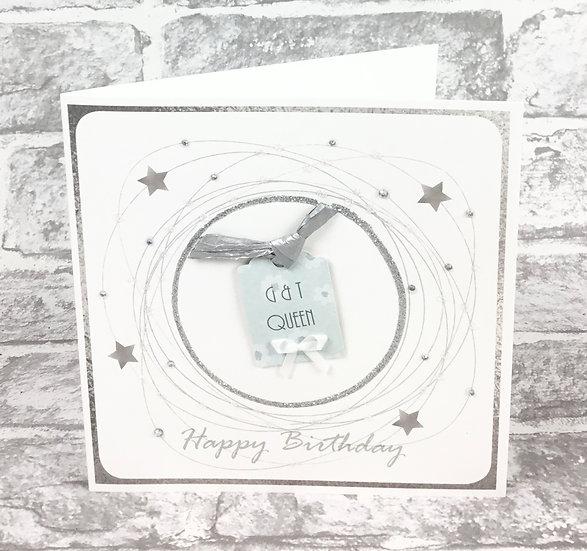 G&T Queen Birthday Card