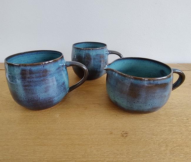 Mugs and Jug
