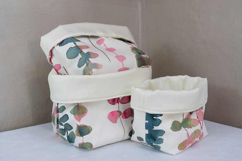 Bits and Bobs Bags - Pink/Green