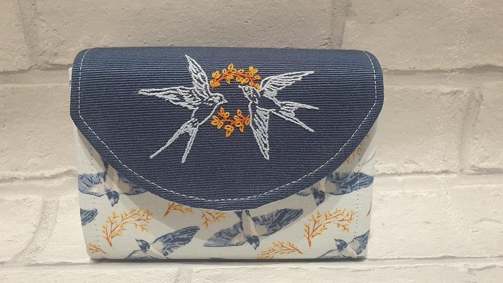 swallow mini clutch wallet