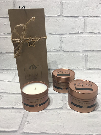 Small Candle Gift Set (x3)