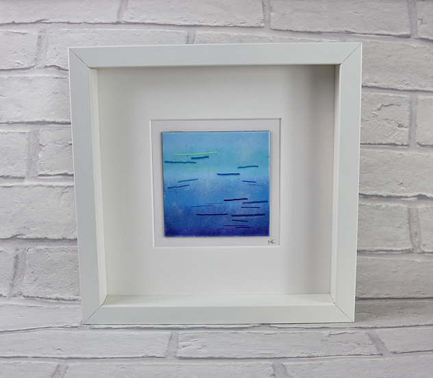 Enamelled Sea Picture