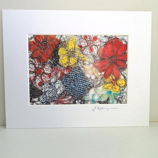 Enchanted Bloom Mounted Print