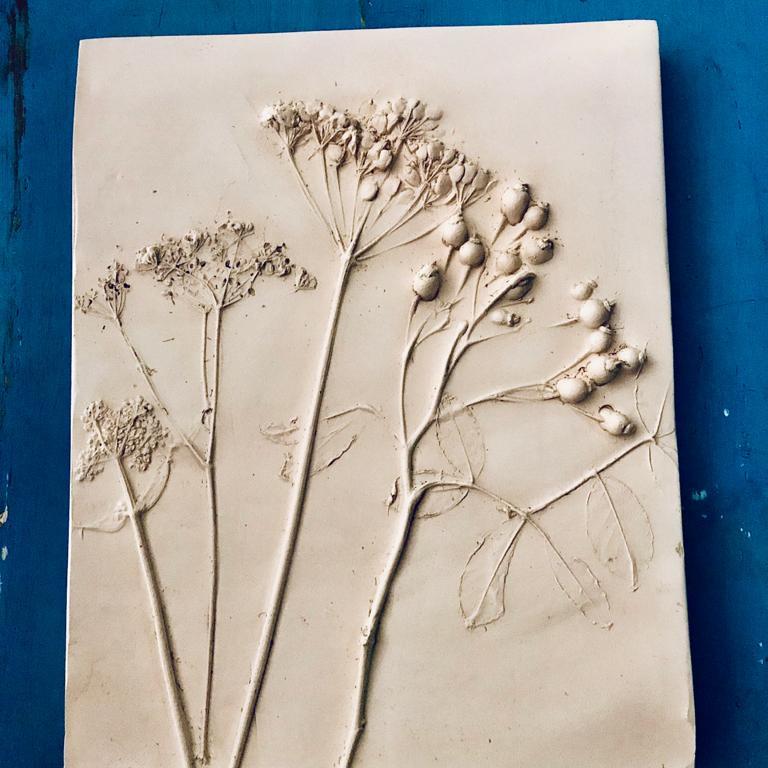 Botanical Plaster Plaque
