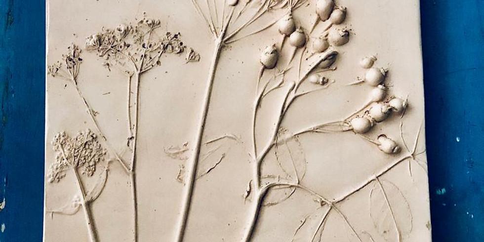 Botanical Plaster Plaque (1)