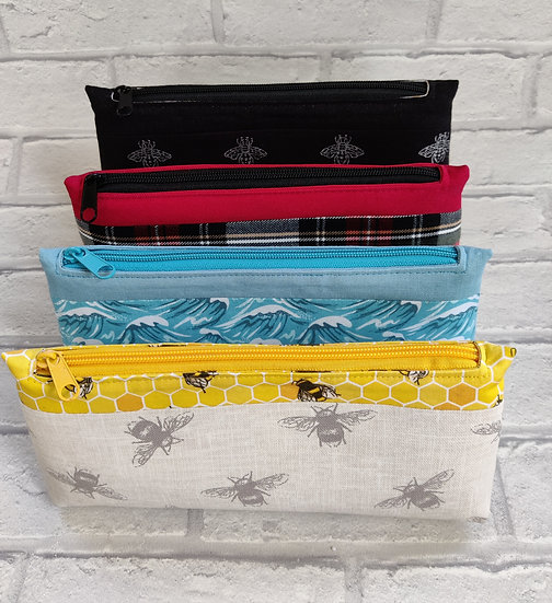 Midi Fabric Pouch/Make-up Bag