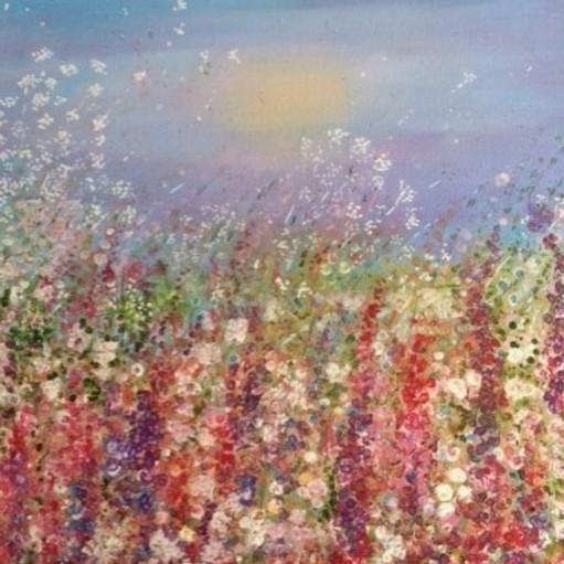 Beginners Floral Acrylic Canvas Workshop  (1)