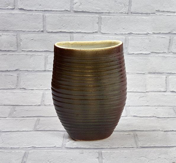 Squashed vase