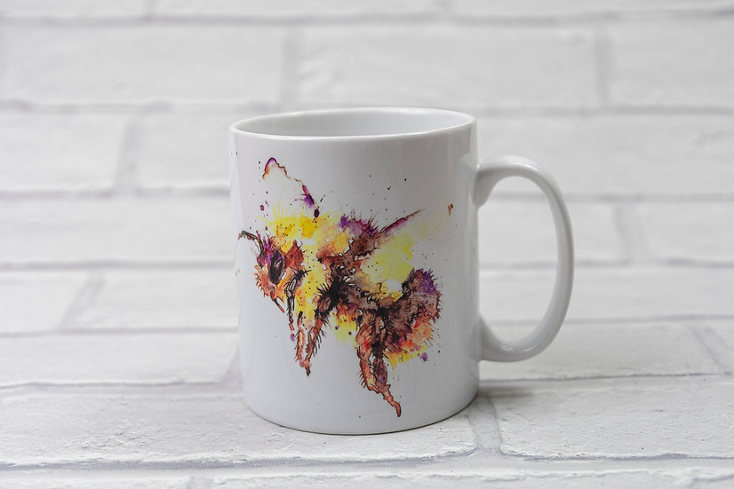 Mugs with Watercolour Print