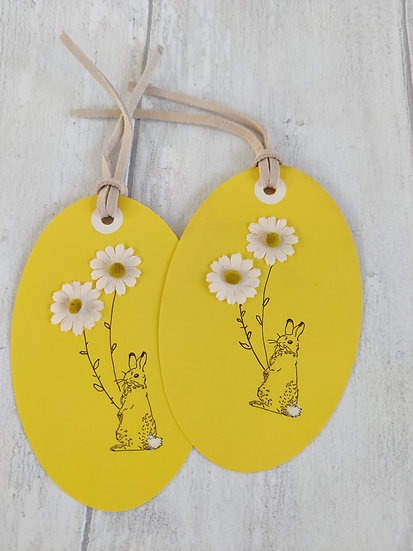 Set of 2 Easter Gift Tags