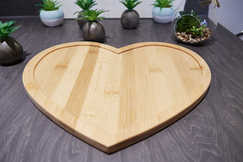 Heart shaped tray