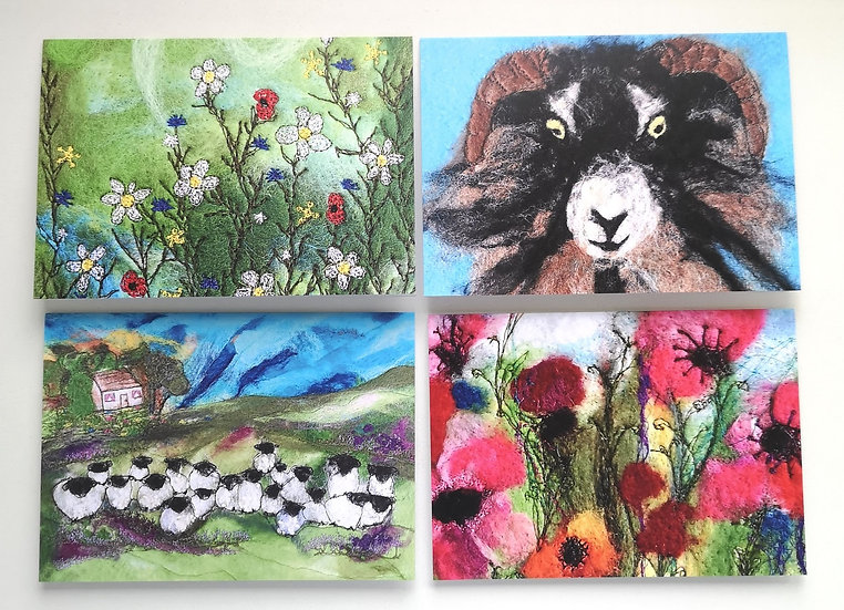 Daisy Meadow Card Pack