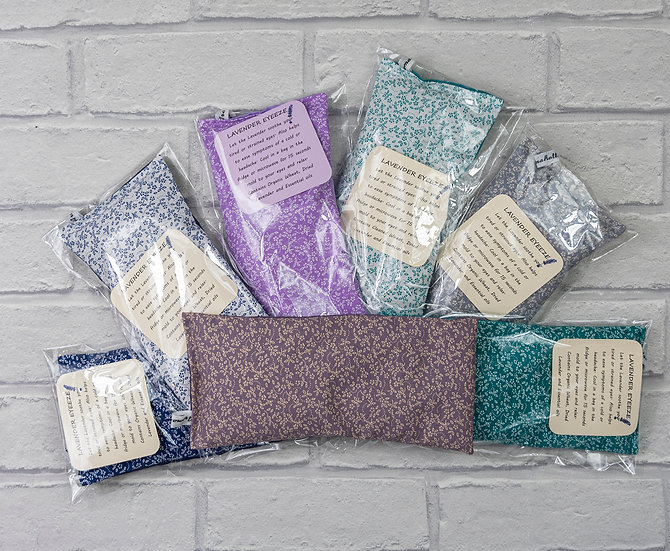 Lavender Weighted Eye Pillows