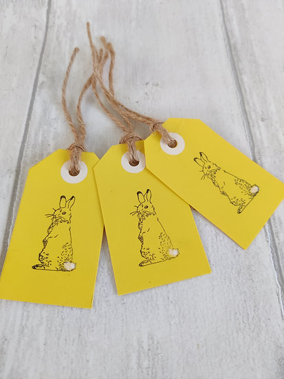 Set of 6 Easter Gift Tags
