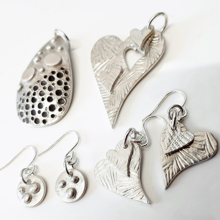 Silver clay jewellery (2)
