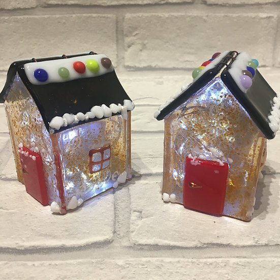 Gingerbread House and Lights