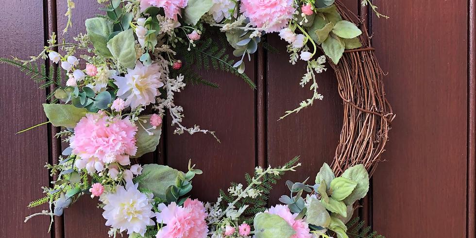Spring Wreath (artificial)