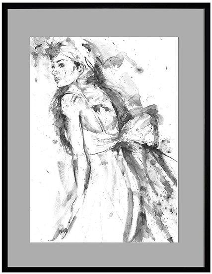 Bride Print - UNFRAMED
