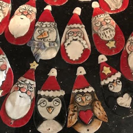 Ceramic Christmas Decorations