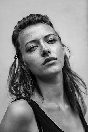 Kane Layland B&W, Hair Photography