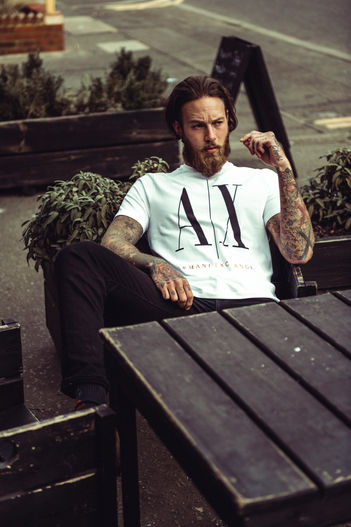 Armani Exchange, Billy Huxley, Kane Layland