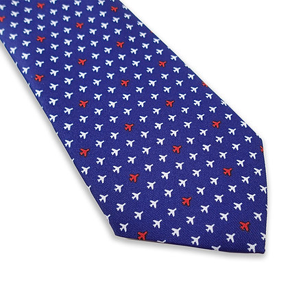 Men's Tie, Mini Airplanes