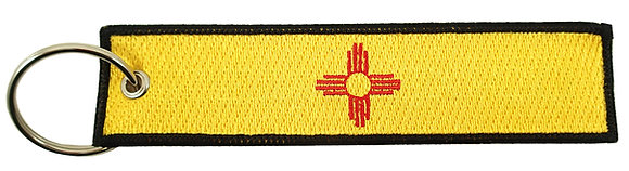 Key Chain, Embroidered, NEW MEXICO