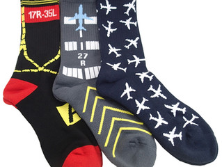 Aviation-Themed Socks!