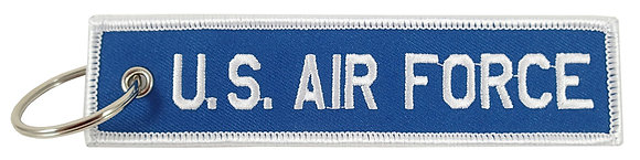 Key Chain, Embroidered, US AIR FORCE
