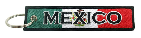 Key Chain, Embroidered, MEXICO