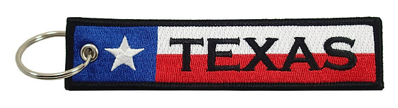 Key Chain, Embroidered, TEXAS