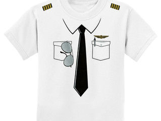 The Pilot Uniform T-Shirt for Kids!