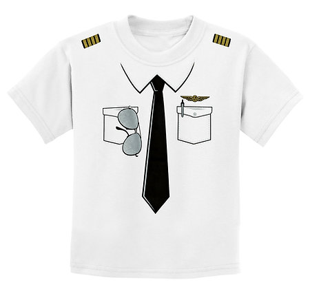 The Pilot Uniform T-Shirt - Youth