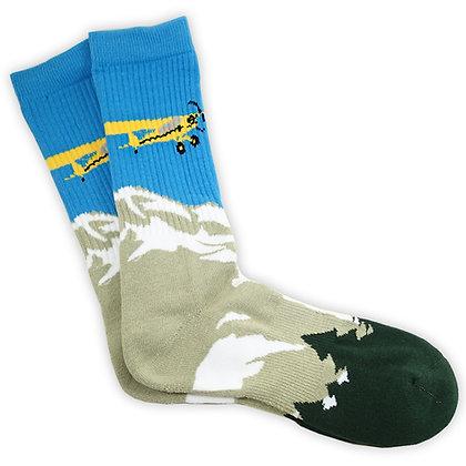 Bush Pilot, Premium Crew Socks, 1-Pair