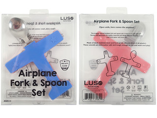 New Airplane Forks & Spoons!