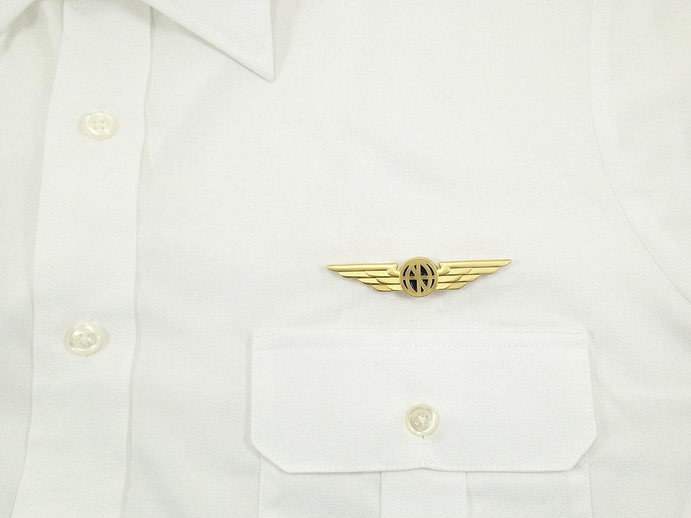 Pilot Wings - Aviator Wings Lapel Pin | luso