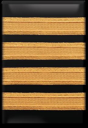 Fridge Magnet - Epaulet, 4 Stripe (Captain)