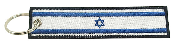 Key Chain, Embroidered, ISRAEL