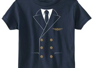 The Pilot Uniform Toddler Tee