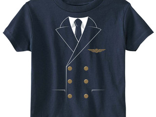 The Pilot Uniform Toddler Tee