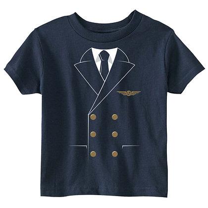 The Pilot Uniform Shirt - Toddler