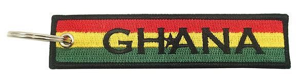 Key Chain, Embroidered, GHANA