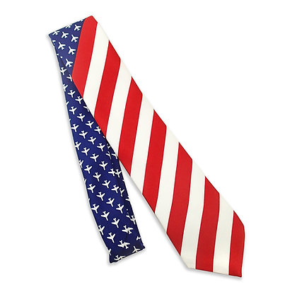 Men's Tie, United States of Aviation Flag