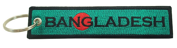 Key Chain, Embroidered, BANGLADESH