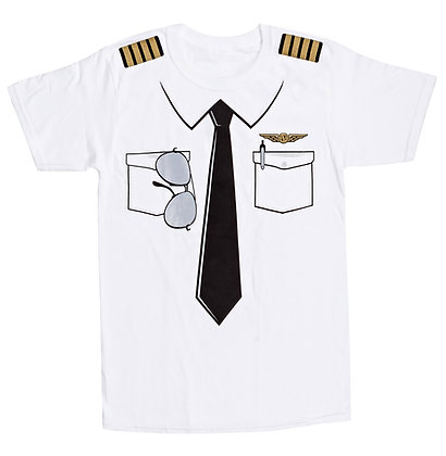 The Pilot Uniform T-Shirt - Adult
