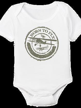 Born To Fly Baby Bodysuit