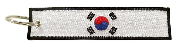 Key Chain, Embroidered, SOUTH KOREA
