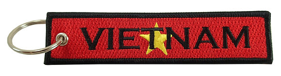 Key Chain, Embroidered, VIETNAM